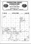 Little Pine T138N-R25W, Crow Wing County 1975 Published by Directory Service Company
